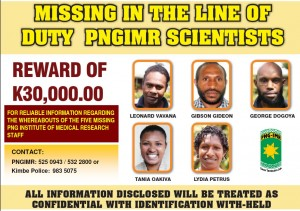 missing scientists