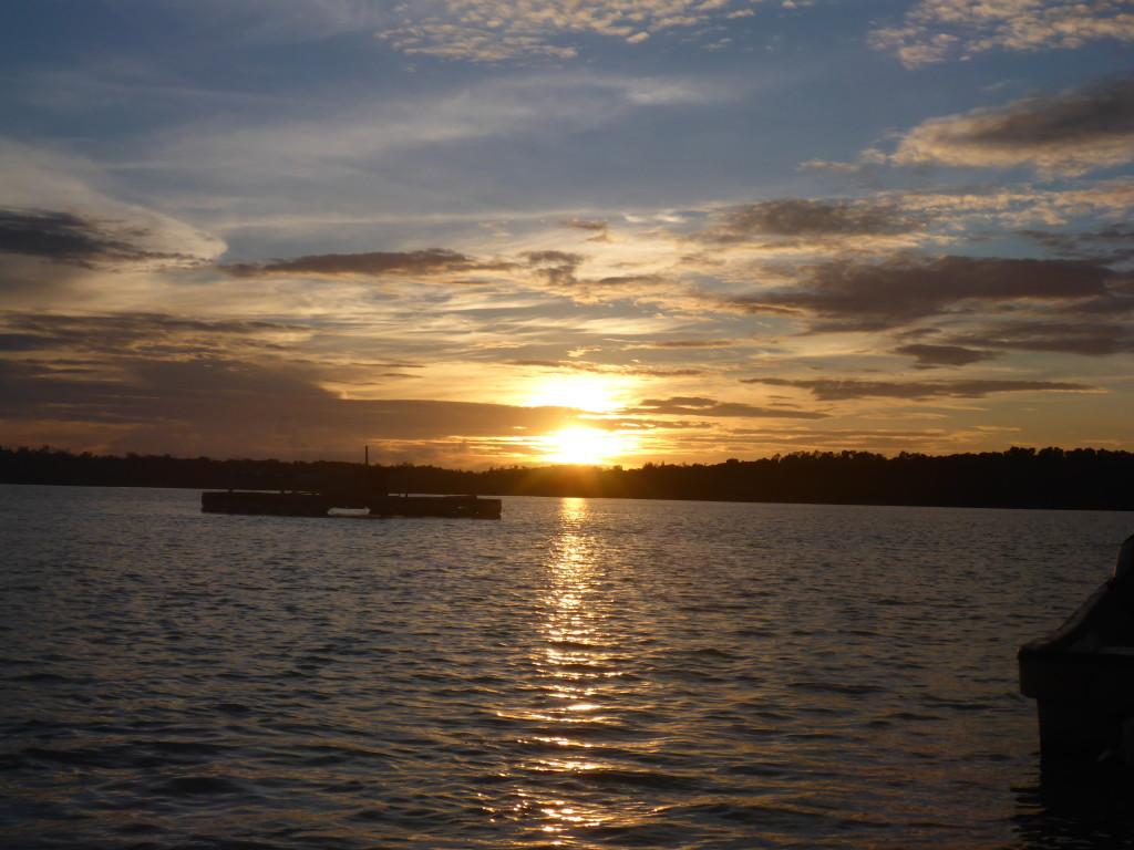Nago Special, sunset behind Kavieng